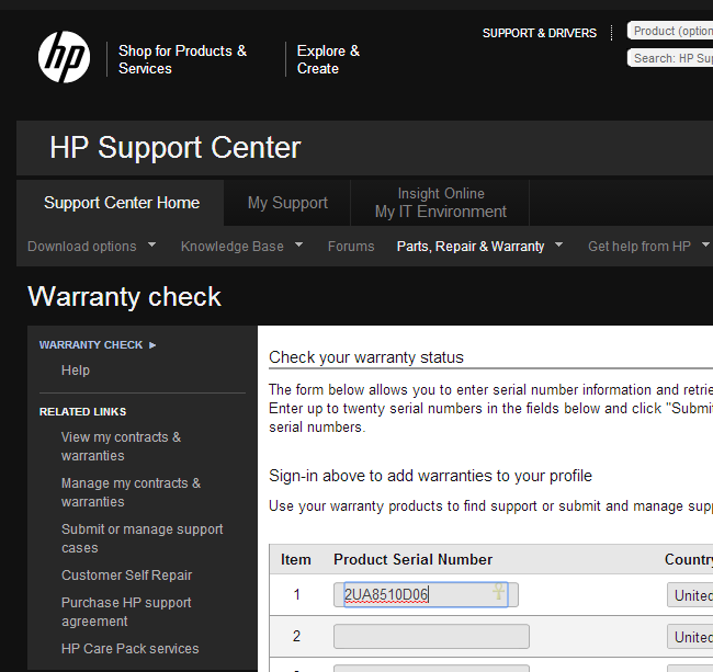 Hp check warranty singapore : Taco bell canada coupons